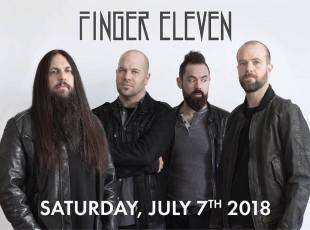 Finger Eleven - Performing Saturday July 7th!