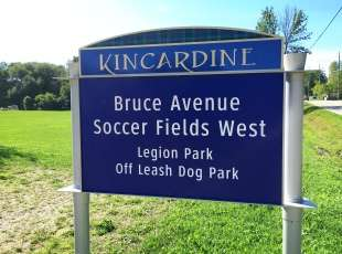 Bruce Avenue Soccer Fields West