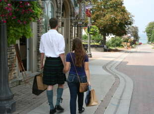 Lakeside Downtown Kincardine Shopping